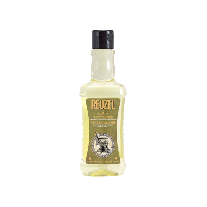 REUZEL 3-in-1 Tea Tree Shampoo, Conditioner & Body Wash 350 ml