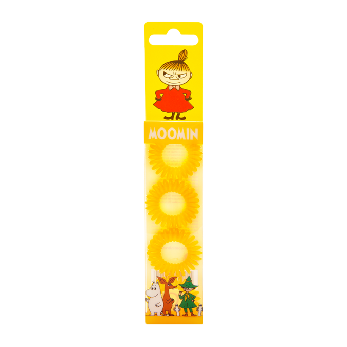 MOOMIN Hair Ring Yellow
