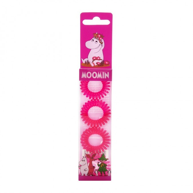 MOOMIN Hair Ring Pink